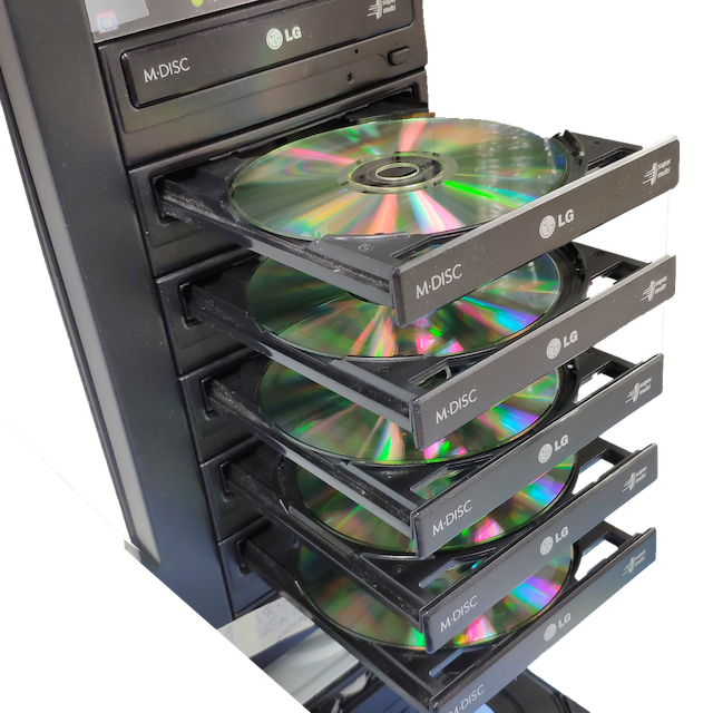 CD / DVD / USB Duplication
